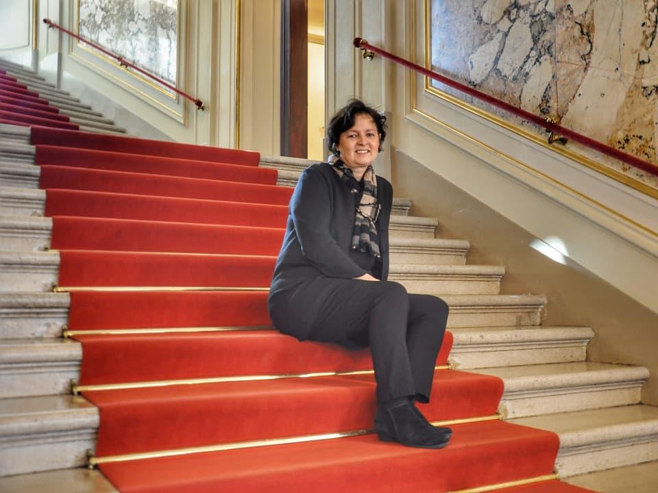 Margreta Jemmi lavura dapi prest 25 onns a l'Opera Turitg