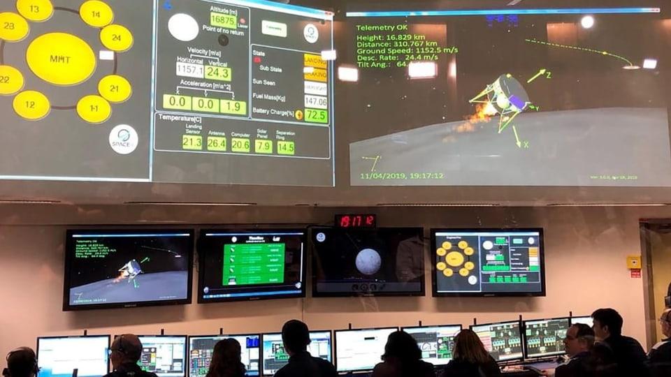 Keine Mondlandung – Landung von israelischer Raumsonde gescheitert