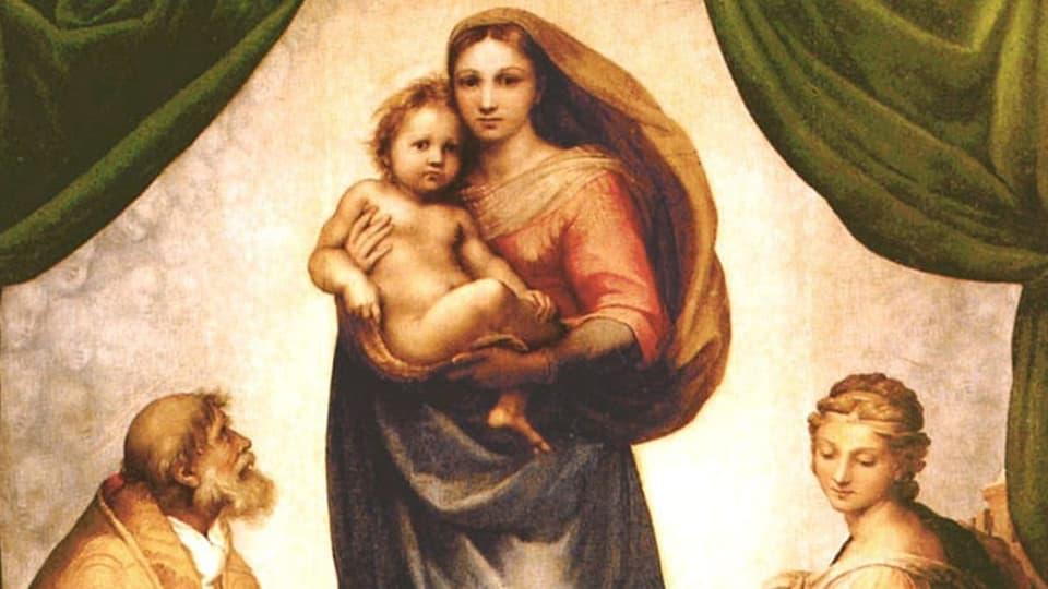 Maria en sia rolla principala sco mamma