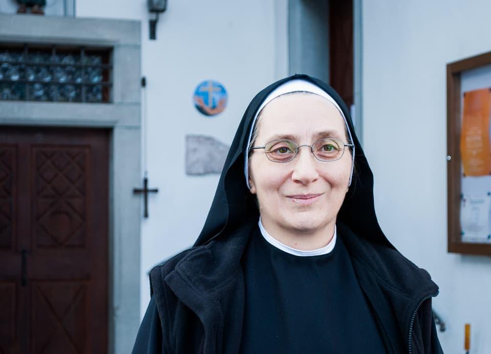 Schwester Scholastica aus Muotathalc