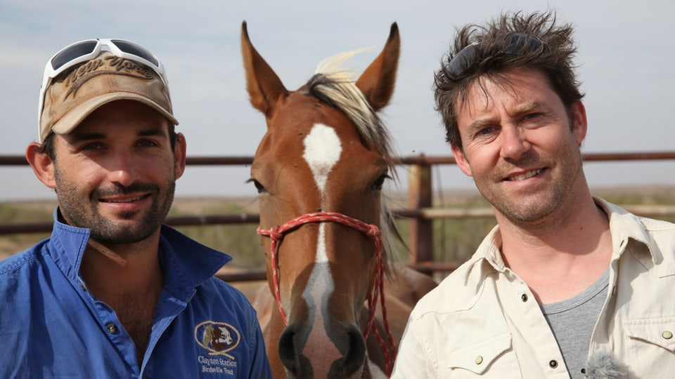 Clayton Oldfield, Wildpferd und Sven