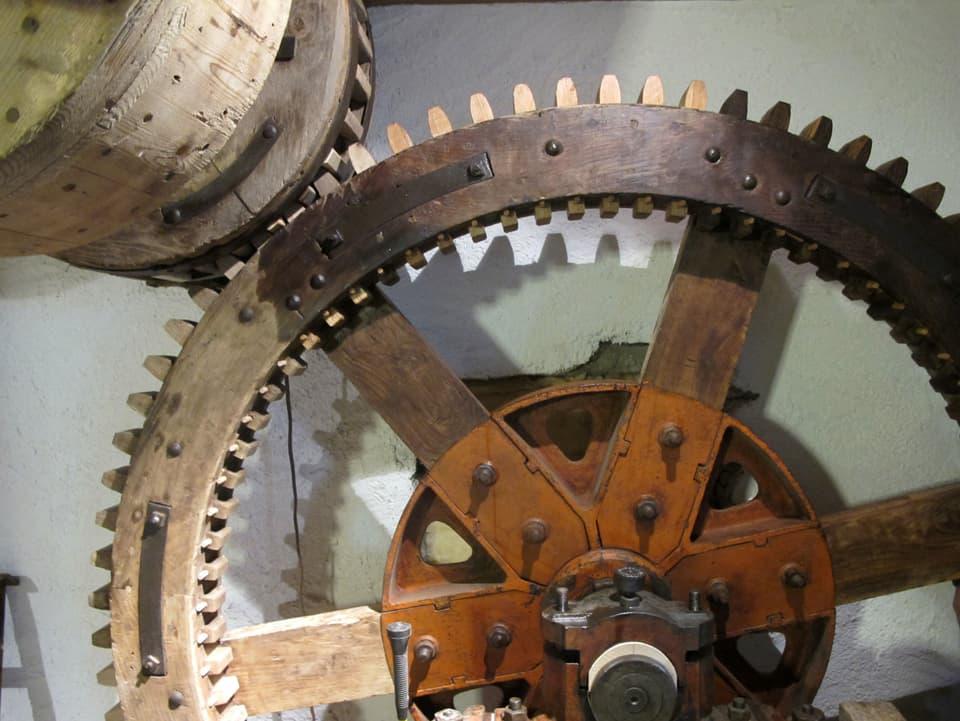 Altes Mühlerad