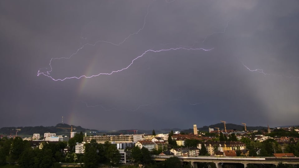 Die Wetterprognose von SRF Meteo
