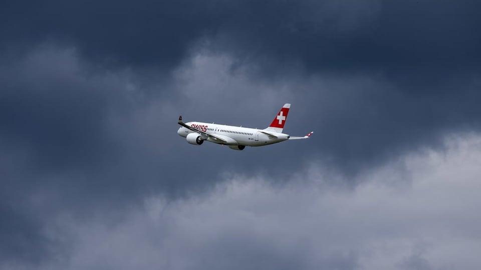 Swiss fliegt weiter in den roten Zahlen