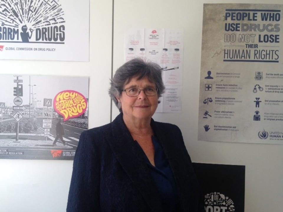 Ruth Dreifuss, Alt-Bundesrätin und Mitglied der Weltkommission für Drogenpolitik