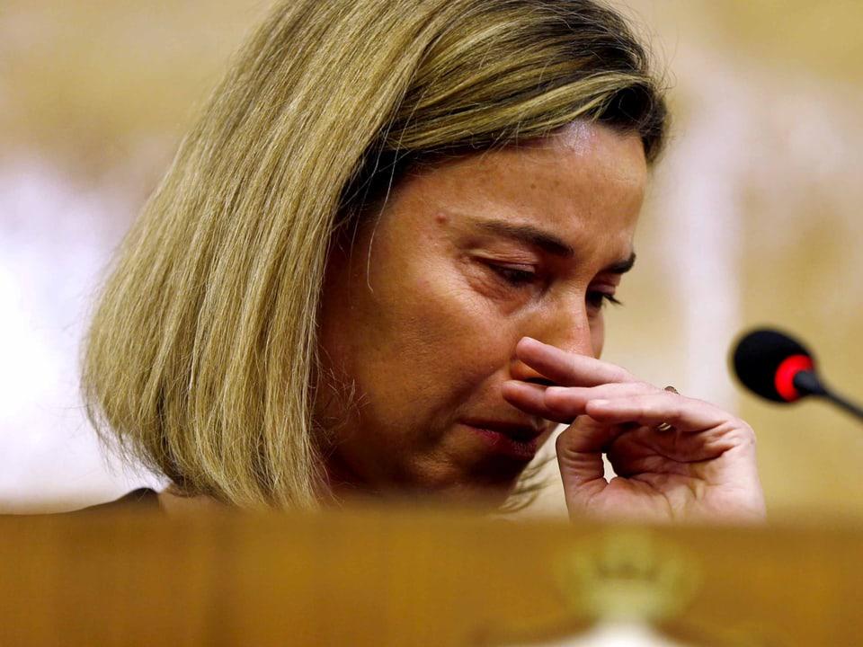 EU-Aussenbeauftragte Federica Mogherini.