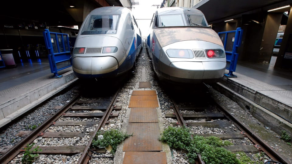 Hitzeschäden An Gleis Bei Genf Tgv Verbindung Unterbrochen