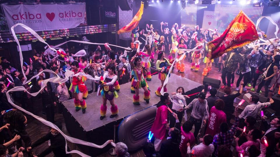 Der finale Auftritt der Girlband «Kamen Joshi»