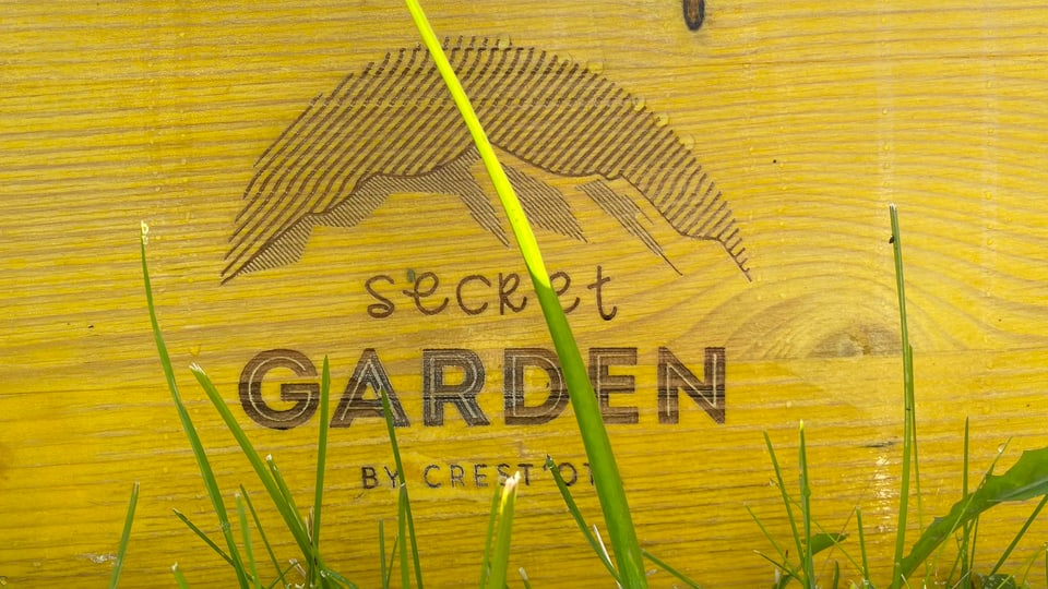 Logo dal festival «Secret Garden»