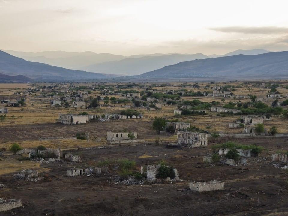 Agdam in Aserbaidschan