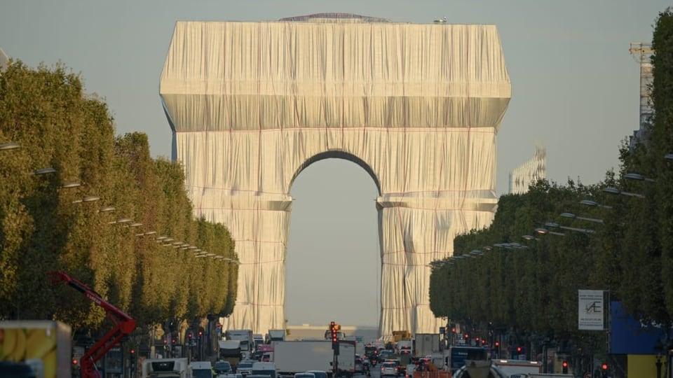 Die Verhüllung des Arc de Triomphe