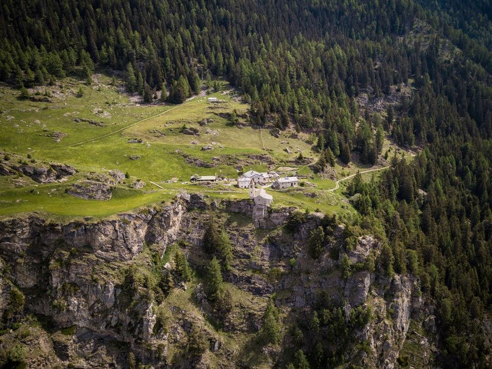 Die Alp San Romerio im Puschlav