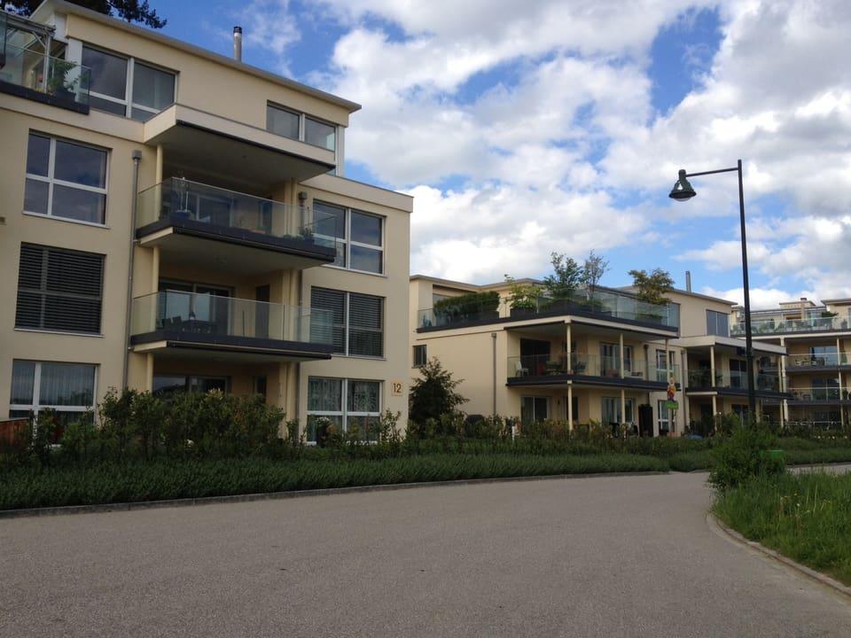 .. findet man in Zofingen Neubauquartiere mit grosszügigen Wohnungen im Grünen.