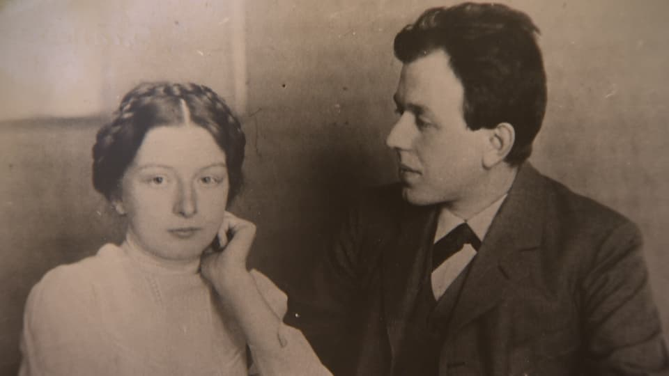 Platten und seine Frau