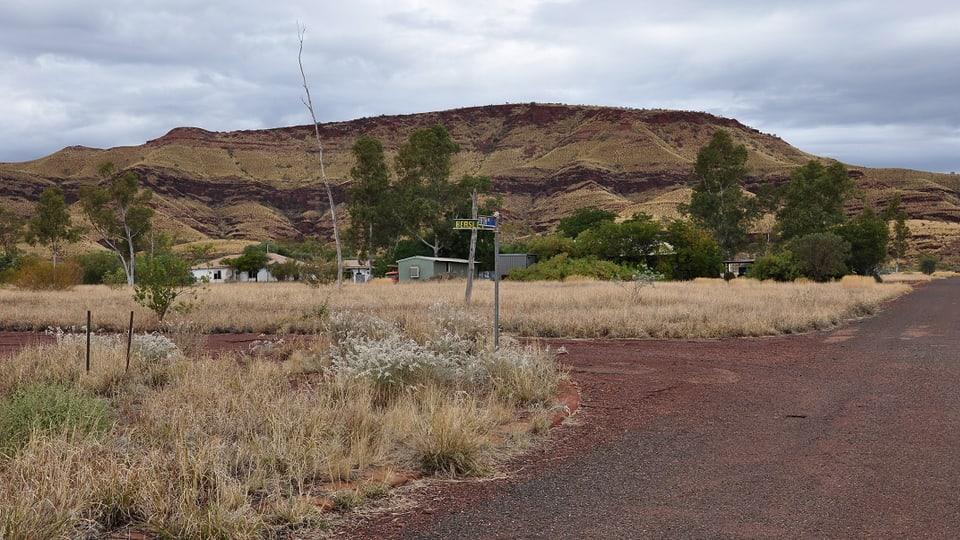 Die ehemalige Minenstadt Wittenoom
