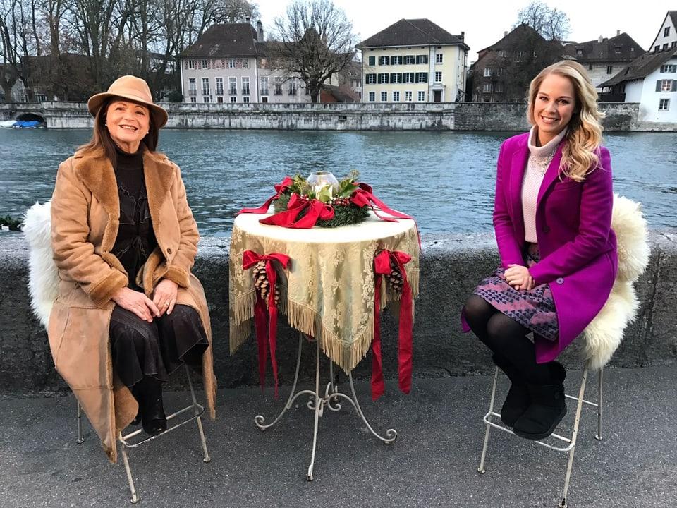 Piera Martell und Linda Fäh.