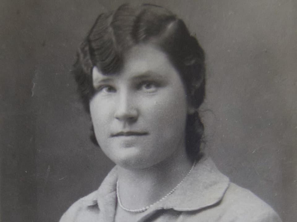 Margrit Julier auf einer undatierten frühen Aufnahme. 1935, als sie 22 Jahre alt war, heiratete sie ihren Mann Josef und gründete mit ihm eine Familie.