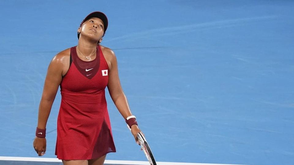 Nagina medaglia als gieus olimpics da chasa per Naomi Osaka.