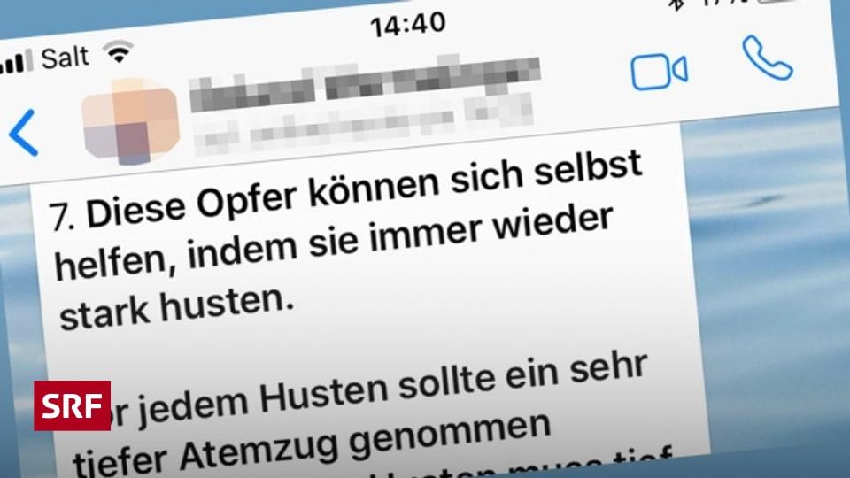 Whatsapp Kettenbrief Herzinfarkt Husten