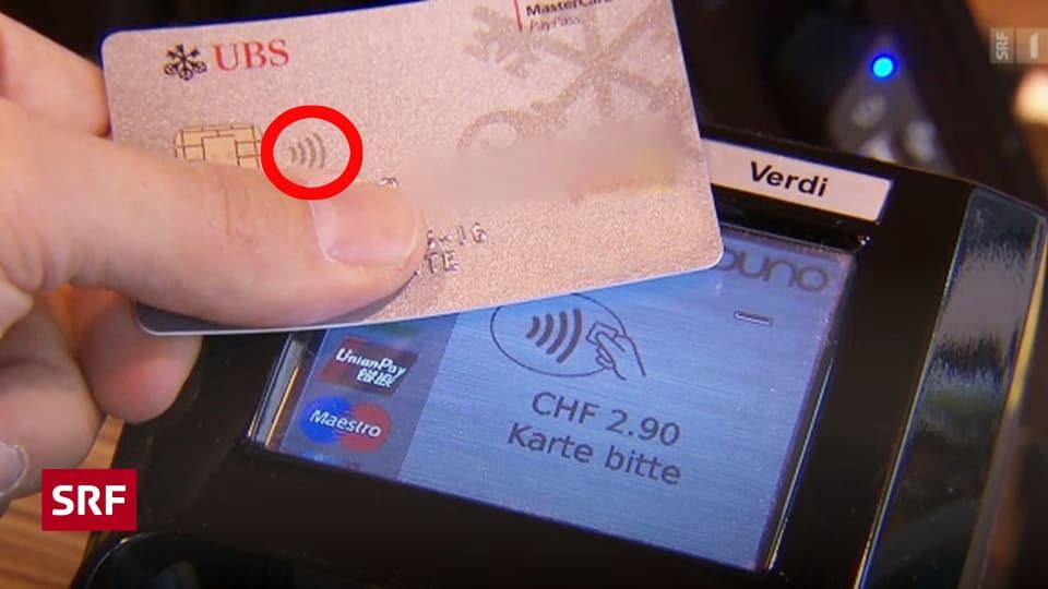 Geld Kontaktlos Zahlen Das Mussen Kunden Wissen Kassensturz