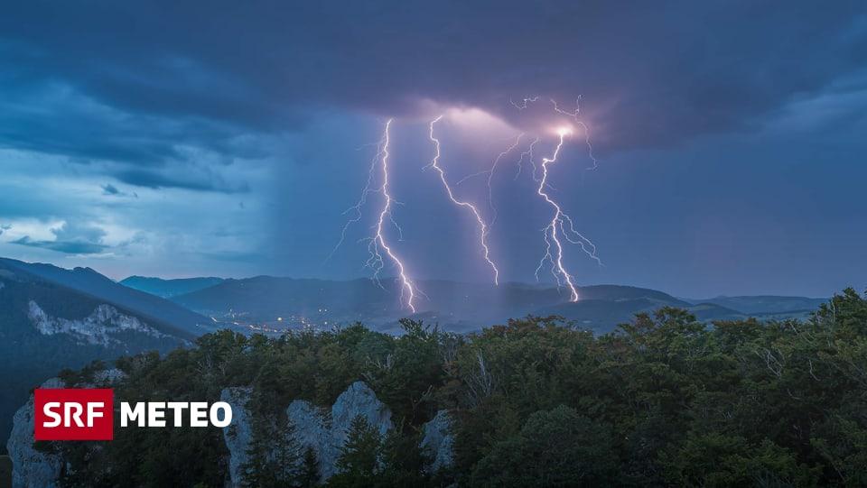 Weatherwatch – Bis am Dienstagabend zum Teil grosse Regenmengen – Meteo