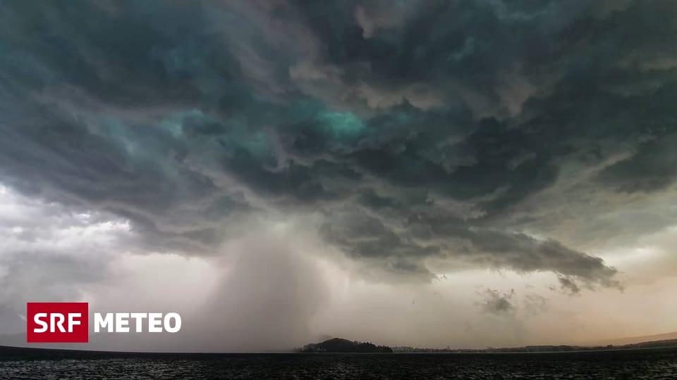 Unwetter - Schon wieder heftige Gewitter