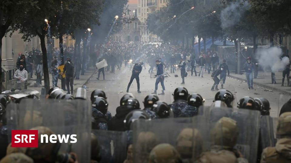 Fast 300 Verletze - Heftige Zusammenstösse auf den Strassen von Beirut
