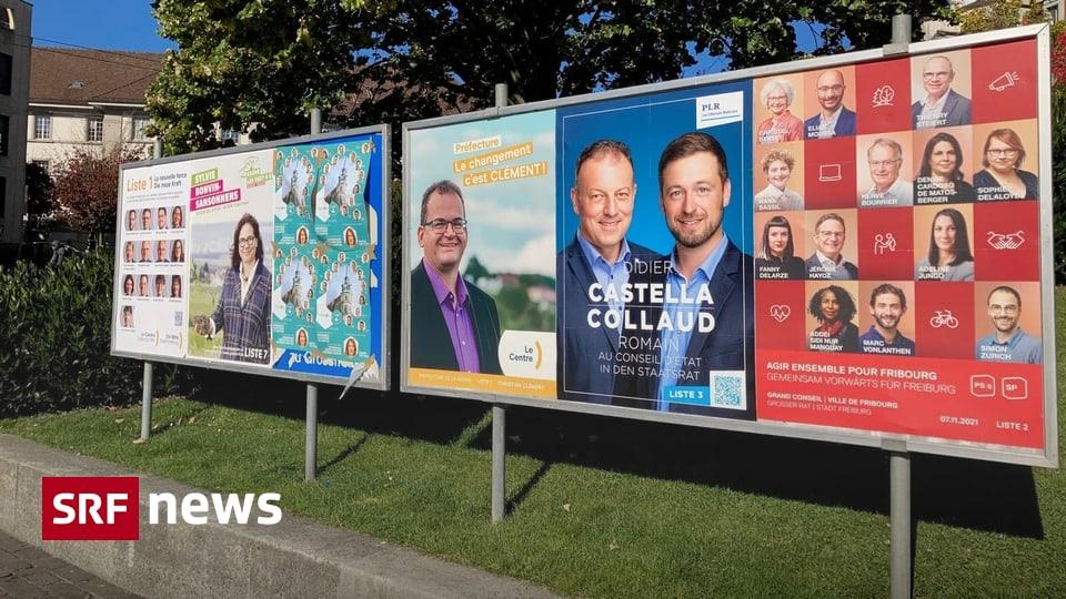 Wahlen Kanton Freiburg - Der Druck kommt nun von links und rechts