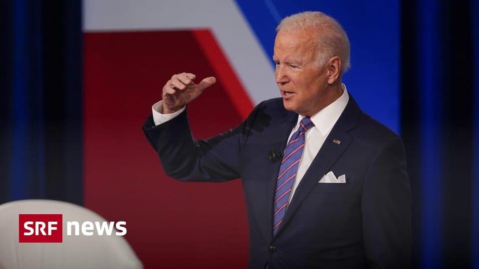 Taiwan-China-Konflikt - US-Präsident Joe Biden will Taiwan bei Angriff verteidigen