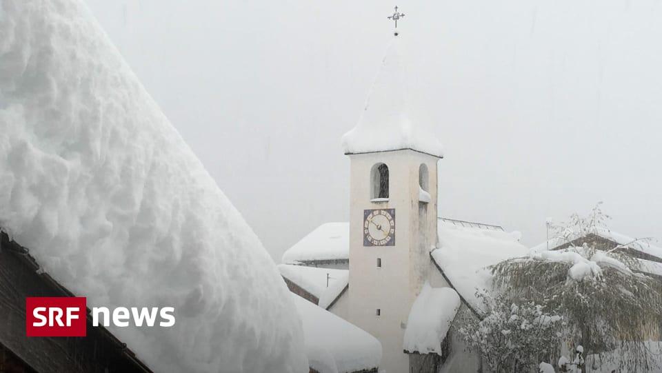 Einzug des Winters – In den Alpen herrscht Schneechaos - Schweizer Radio und Fernsehen (SRF)