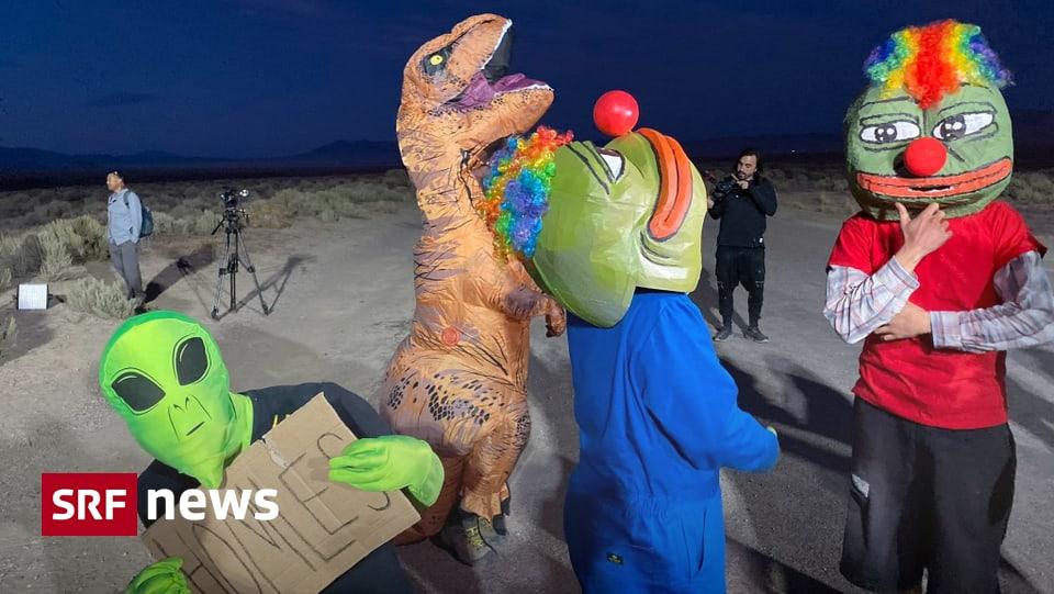 «Sturm» auf Area 51? - Alien-Fans feiern friedlich in der US-Wüste
