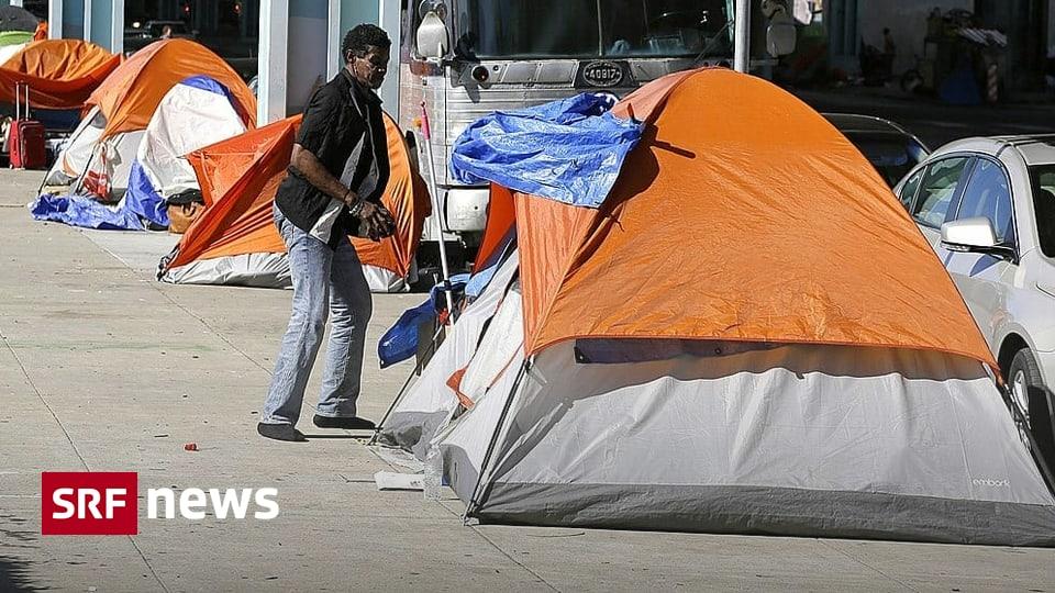 Krise in San Francisco und LA - Wenn Obdachslose ganze Stadtteile übernehmen