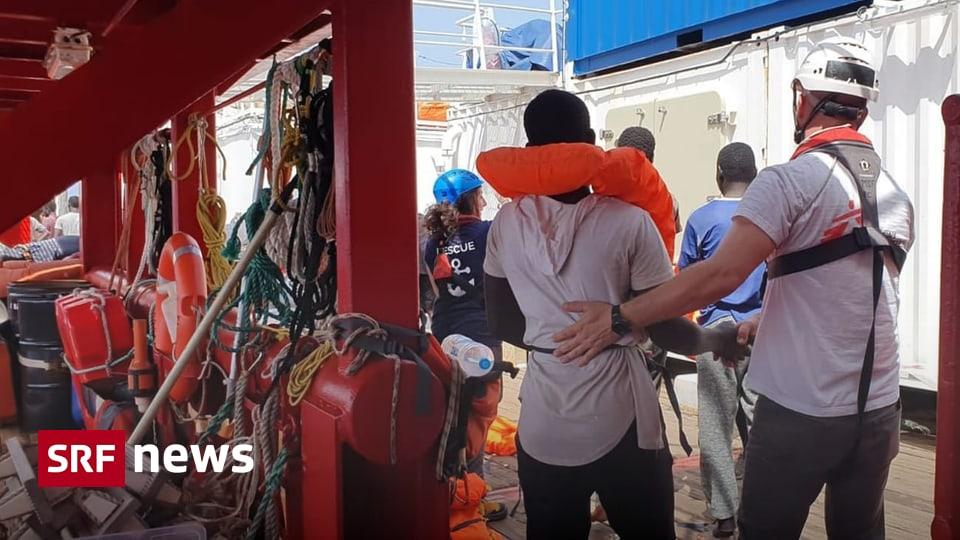 Rettungsschiff vor Malta - Migranten der «Ocean Viking» dürfen von Bord