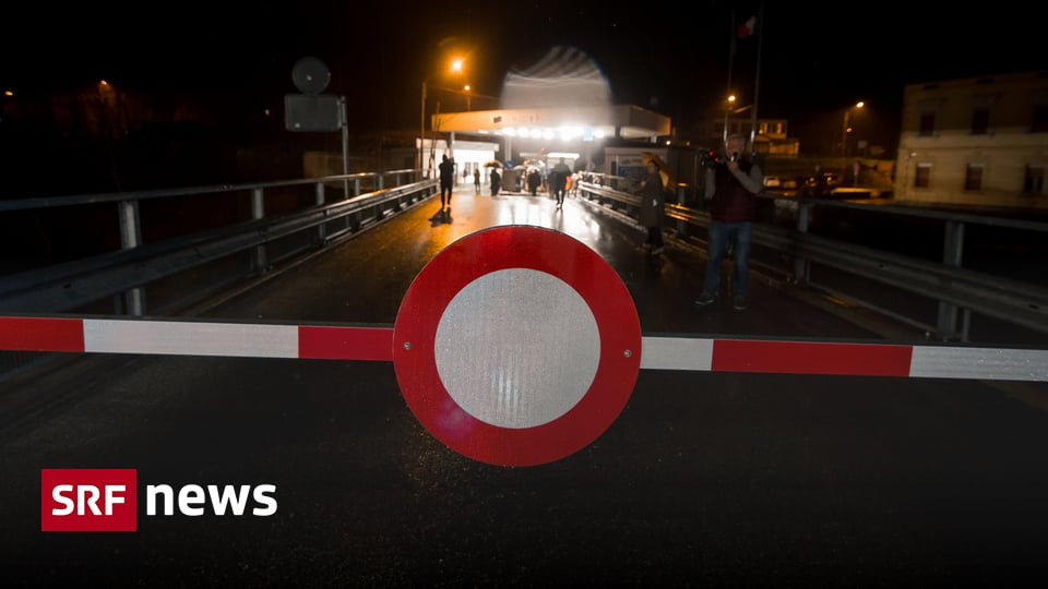 Grenzschließung Italien
