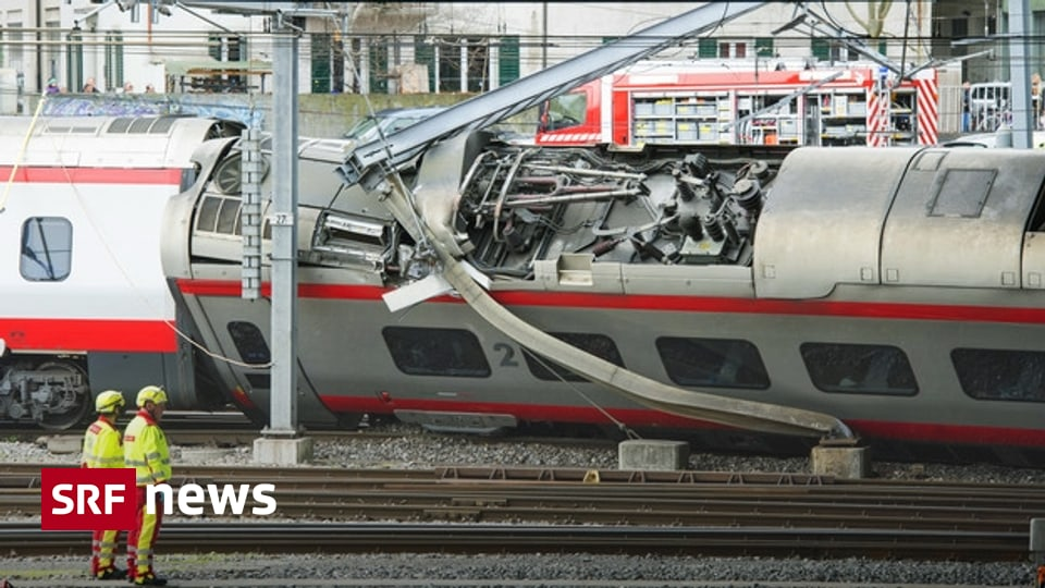 Verschiedene Faktoren - Darum entgleiste der Eurocity in Luzern