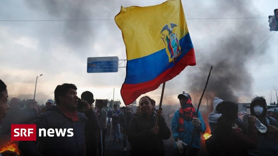 Wegen Benzinpreiserhöhung – Proteste in Ecuador spitzen sich zu