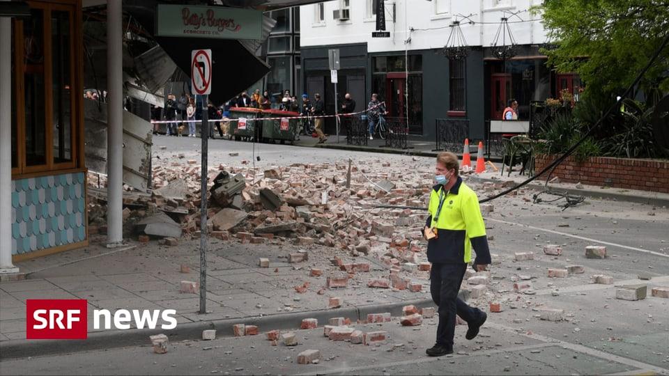 Seltenes Beben - Australien misst stärkstes Erdbeben seit 1997