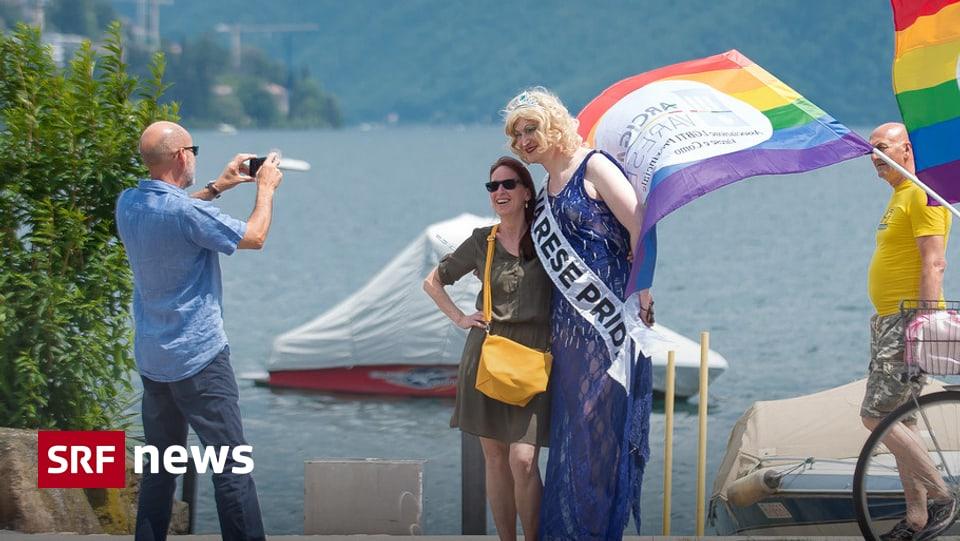 Grüsse von Bundesrat Cassis - Fröhliche erste Gay Pride in
