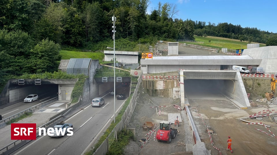 Dritte Tunnelröhre im Bau - Gubrist: Autofahrer hoffen auf markante Verkehrsentlastung