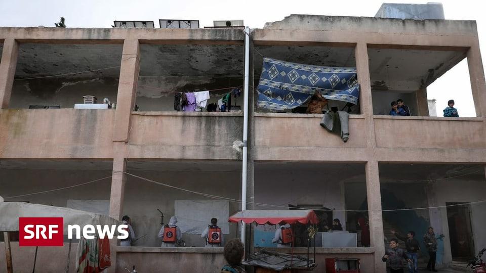 Grenze in Idlib geschlossen - «Ohne Operation werde ich erblinden»