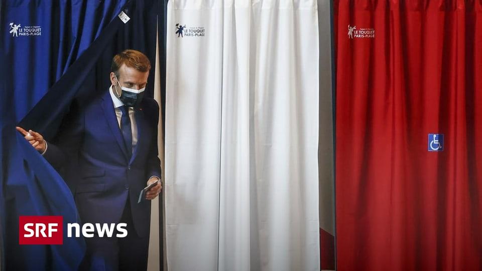 46 Millionen haben gewählt - Niedrige Wahlbeteiligung bei Frankreichs Regionalwahlen