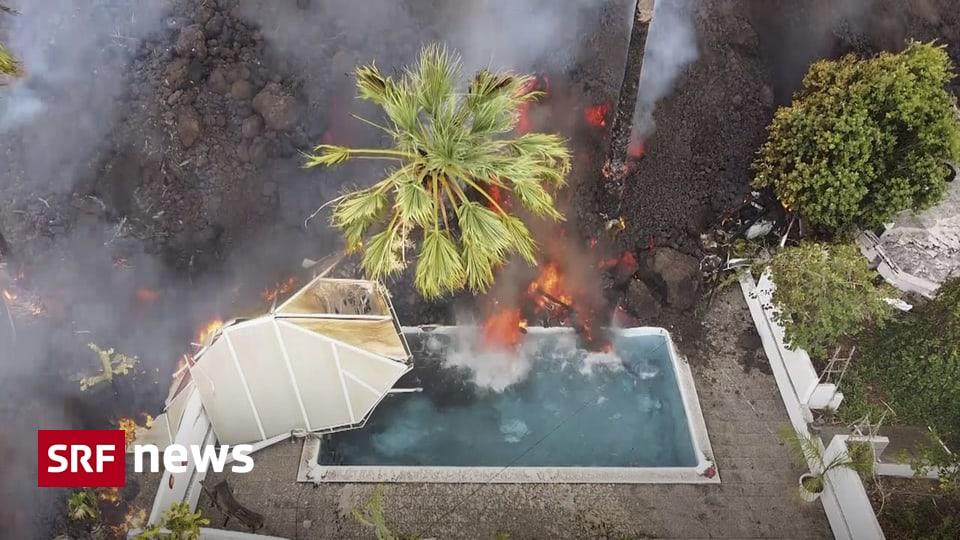 Vulkanausbruch auf Kanaren - 200 Wohnhäuser auf La Palma sind komplett zerstört