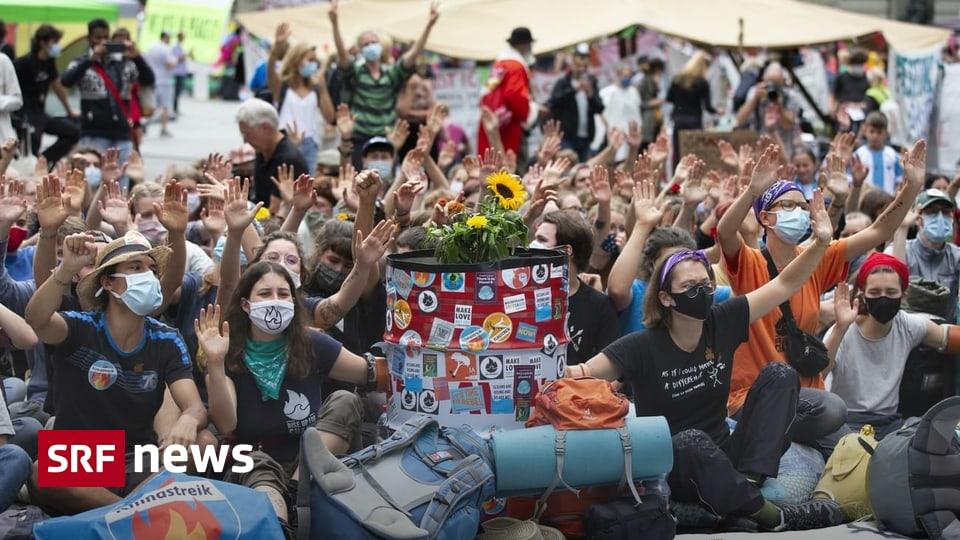 Klimastreik - Riss in der Klima-Bewegung: Radikale gegen Gemässigte