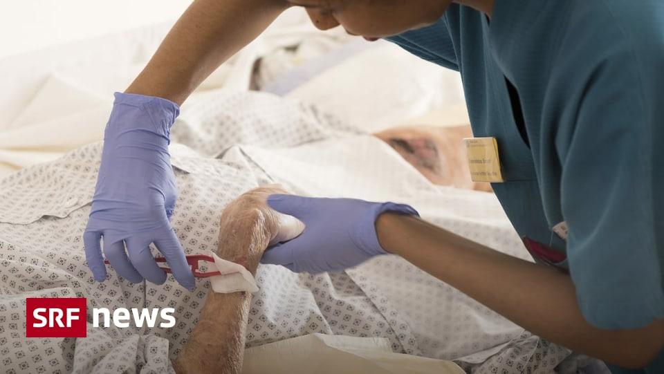 Zahlreiche infizierte Bewohner - In Alters- und Pflegeheimen fehlt es an Schutzmaterial