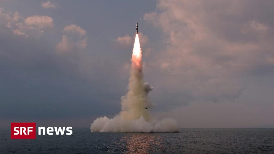 Ballistisches Raketenprogramm - Nordkorea bestätigt Test von U-Boot-Rakete