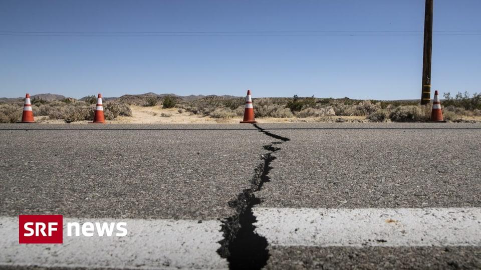 Stärkstes Beben seit 20 Jahren – Erdbeben erschüttert Südkalifornien