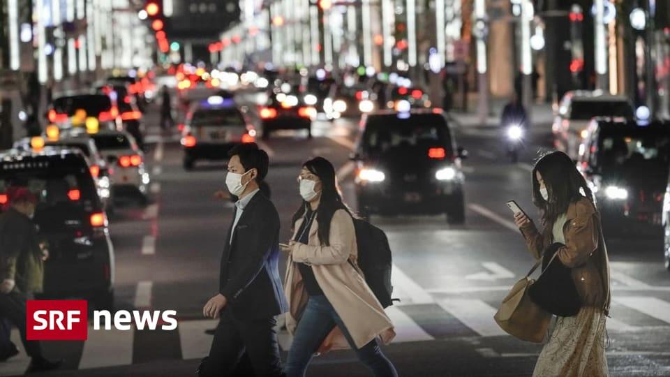 Beunruhigende Zahlen aus Tokio - Nun steigen auch in Japan die Covid-19-Fälle rasant an