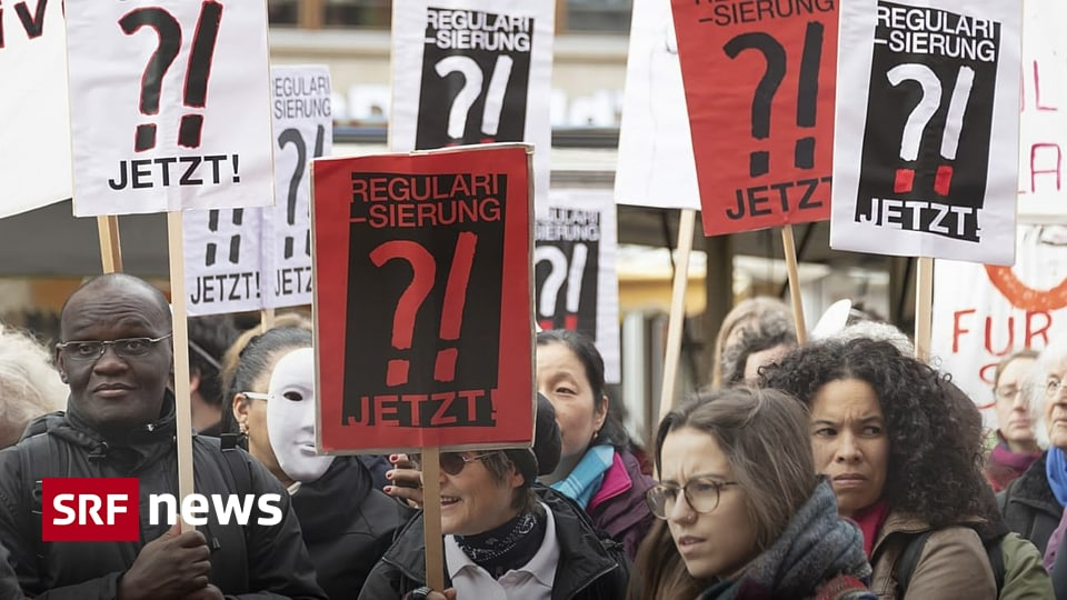 Legal leben in Genf - Hunderte Sans-Papiers erhalten Aufenthaltspapiere