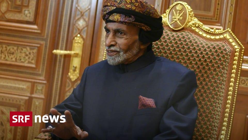 Cousin übernimmt Herrschaft – Sultan von Oman gestorben
