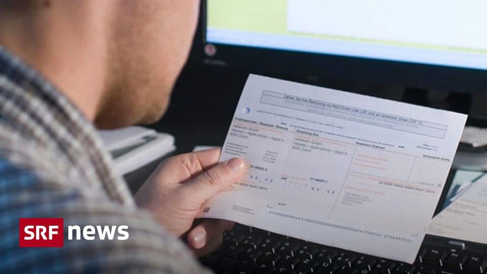 Papier- und Schalterkosten - Anhaltender Ärger über neu eingeführte Swisscom-Gebühren